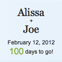100 Days until the BIG Day!