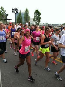 """""""Running in the Quarter Marathon"""""""