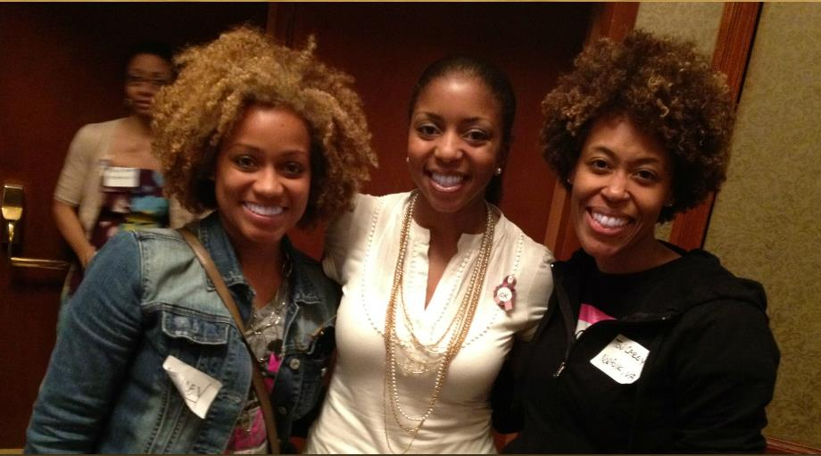 """Alissa Henry with Ashley Hicks and Toni Carey from Black Girls Run"""