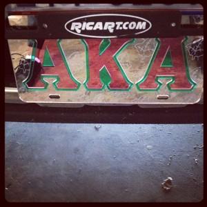 """""""AKA plate"""""""