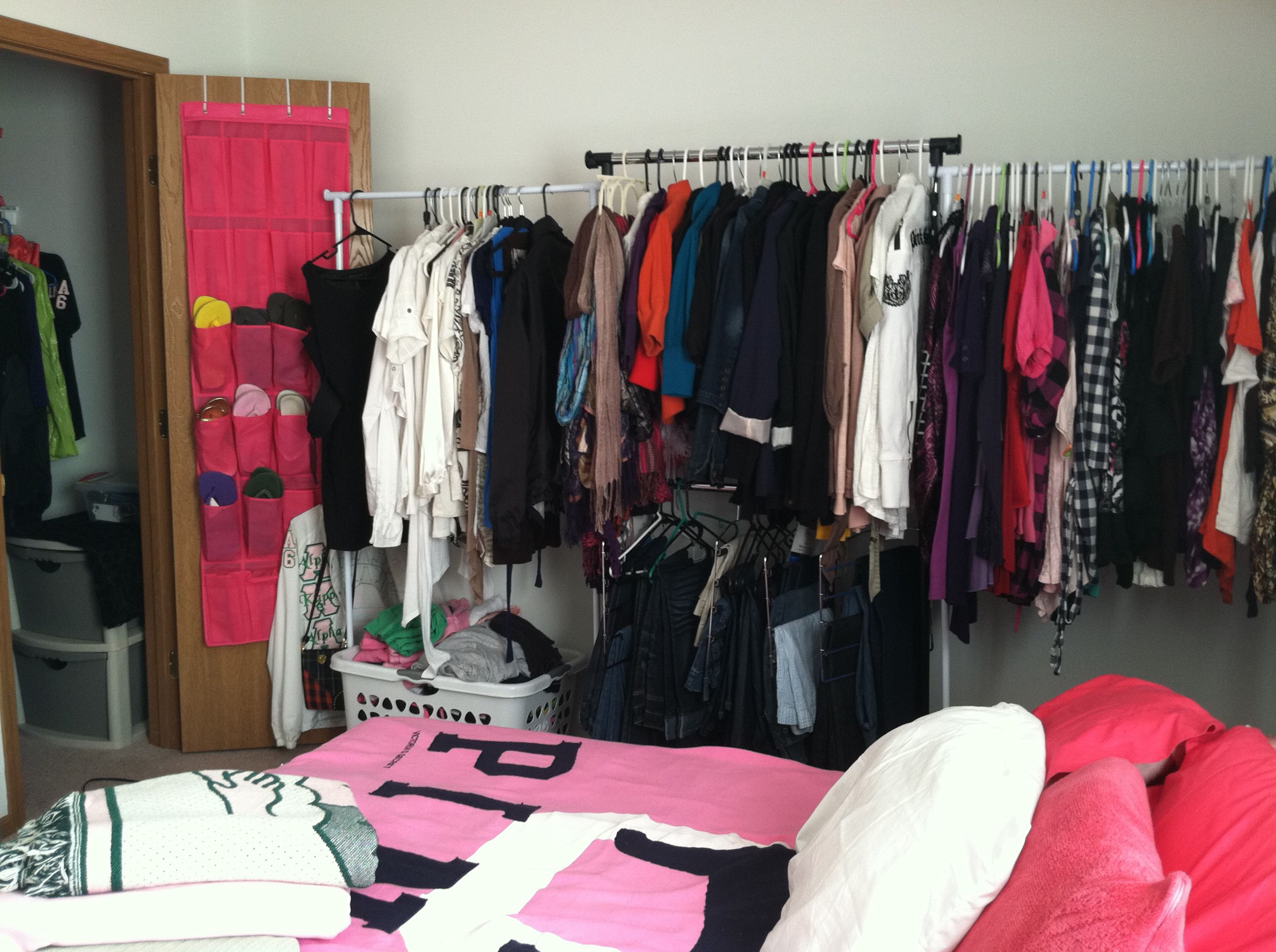 Turning A Spare Room Into A Dream Closet Or Why I Have