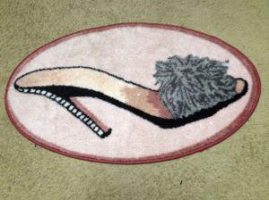"""""""Dressing room rug"""""""