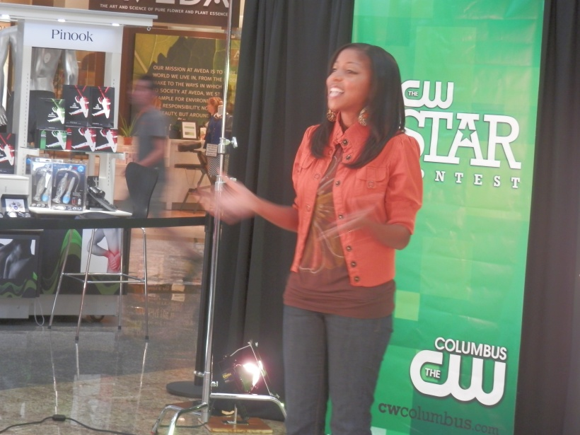 """Alissa at CW Star Auditions"""