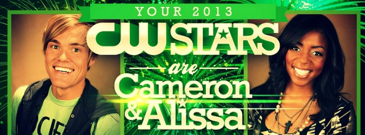 """Alissa and Cameron CW Stars"""