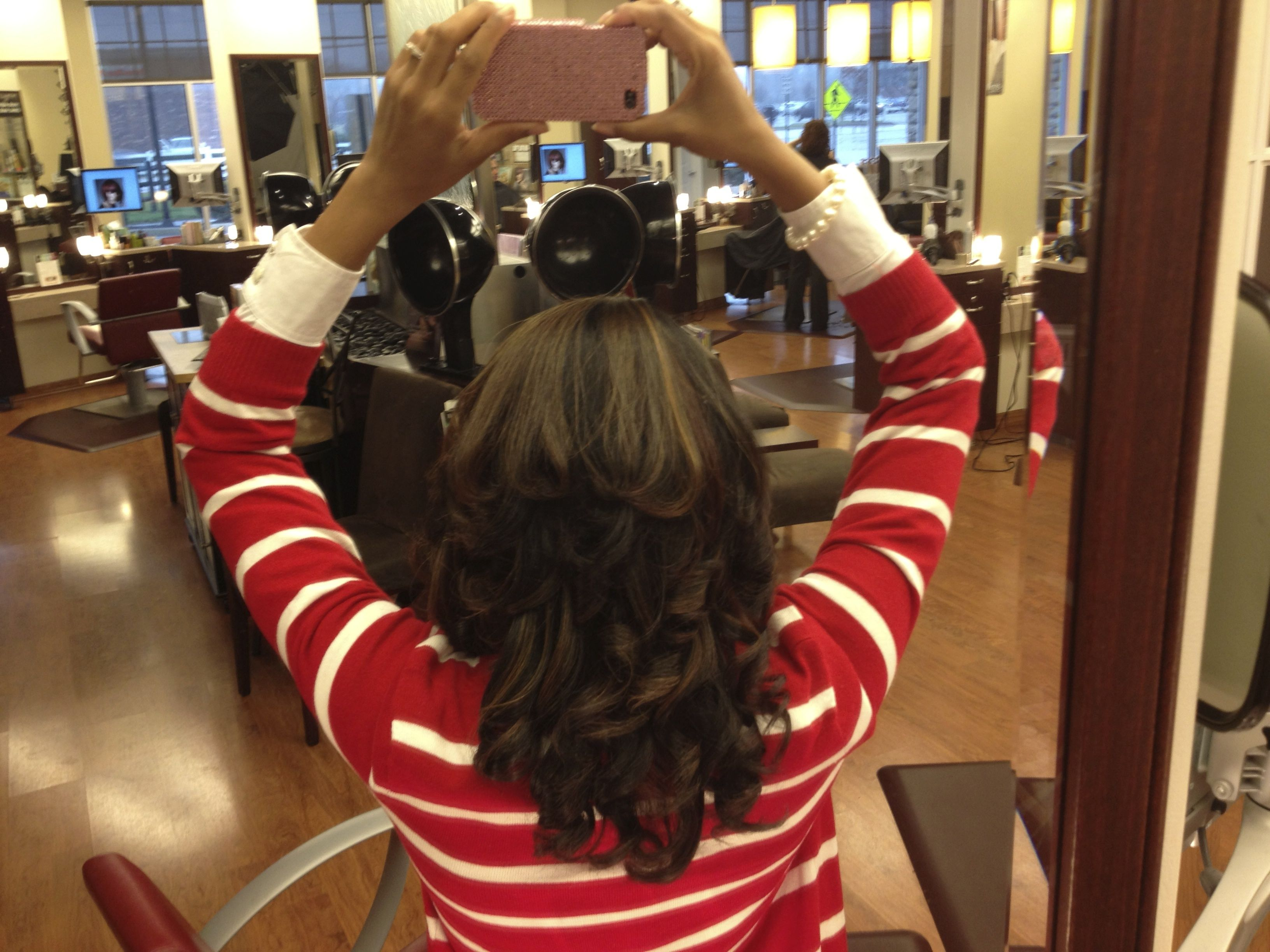 My Cw Star Experience The Keratin Complex Treatment Alissa Henry