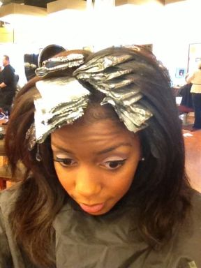 All foiled up!