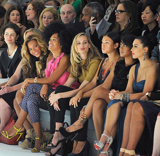 Beyonce Fashion Show