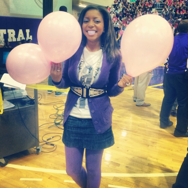 me with balloons