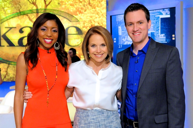 Joe and Alissa Henry were featured on The Katie Couric Show April 25, 2014