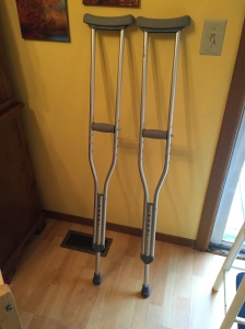 plain crutches