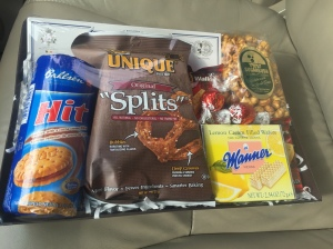 Lindsay Acura gives you free snacks when you buy a car! I'm excited for lemon wafers :)