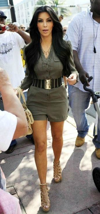 Kim Kardashian romper