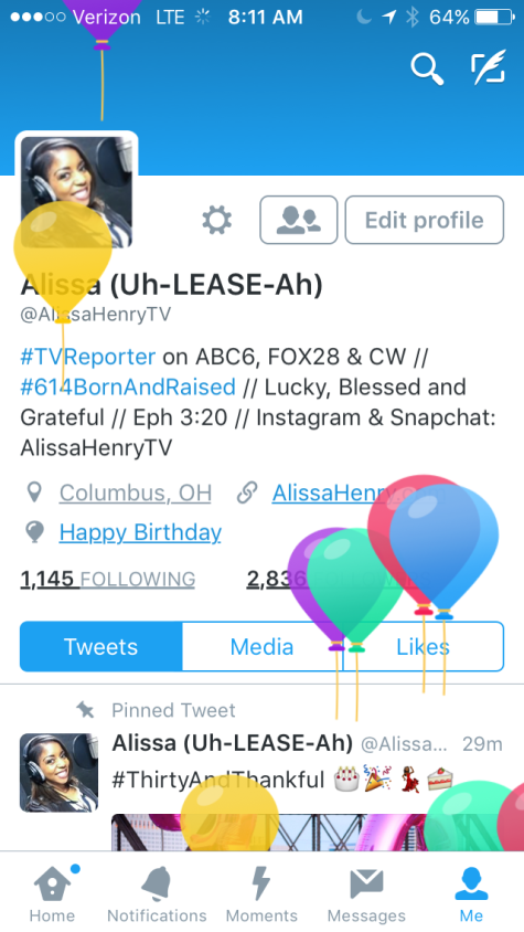 Happy Birthday from Twitter