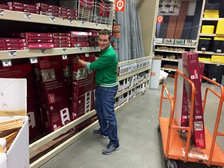 Closetmaid Selectives at Home Depot