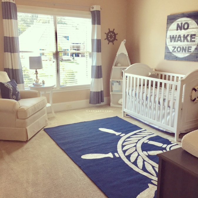 Nautical Nursery Theme